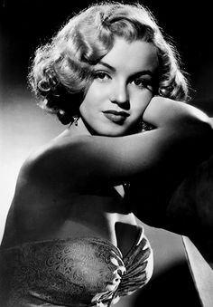 """Marilyn Monroe in a promotional photo for """"All About Eve."""" (1950)"""
