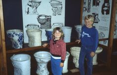 What did you do this summer? We opted out of going to Disney World so the kids could experience the Toilet Museum! They were so excited to be able to pick out their favorite one! (submitted by Marte)