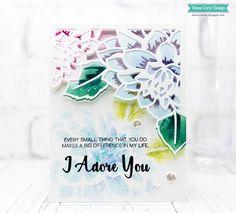 Altenew Layered Floral Cover Die A, Altenew Layered Floral Cover Die B, Altenew layering die, Altenew Adore You stamp set, cardmaking, interactive card, magic slider card tutorial, cardmaker, #DanaCardDesign