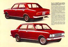 Fiat 132 depliant