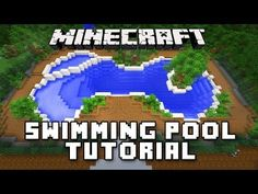 Minecraft Tutorial: How To Make A Swimming Pool And Spa (Modern House Build Ep. 32) - YouTube