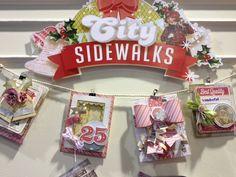 Brand New Pink Paislee City Sidewalks Collection - Scrapbook.com
