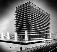 wandrlust:    Los Angeles Department of Water and Power Building byAlbert C. Martin, Jr.
