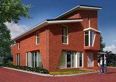 Huizen on pinterest vans met and tuin - Huis buitenkant ...
