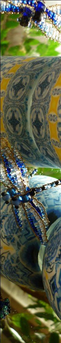 libellules perles de rocaille