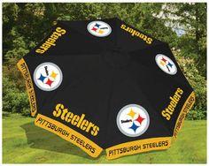 Pittsburgh Steelers 9 ft Patio Umbrella