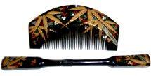 日本のアンティークのヘアアクセサリー  1920年頃