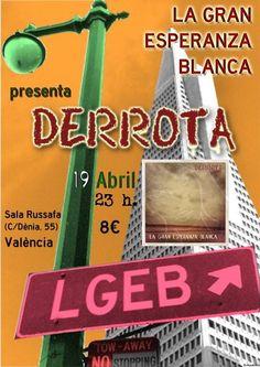 """.ESPACIO WOODYJAGGERIANO.: La """"Derrota"""" de LA GRAN ESPERANZA BLANCA en concie... http://woody-jagger.blogspot.com/2013/04/la-derrota-de-la-gran-esperanza-blanca.html"""