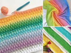 How to Crochet Alpine Stitch - Free Tutorial and Inspiration | Crochetpedia Crochet Stitches, Crochet Hooks, Free Crochet, Crochet Patterns, Crochet Afghans, Popcorn Stitch, Front Post Double Crochet, Online Tutorials, Crochet Cardigan