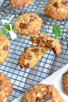 Biscuits crousti-fondants chocolat et noix de coco - Les recettes de Juliette