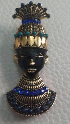 Mira este artículo en mi tienda de Etsy: https://www.etsy.com/listing/215729521/great-vintage-blackamoor-brooch