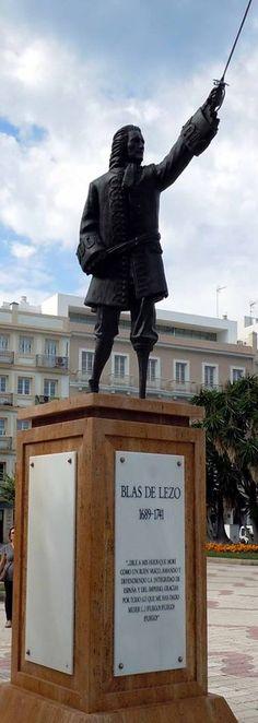 Teniente General de la Armada de España Blas de Lezo