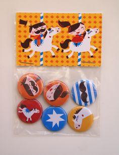 #Magnets #circus #moustache by Bora from www.kidsdinge.com https://www.facebook.com/pages/kidsdingecom-Origineel-speelgoed-hebbedingen-voor-hippe-kids/160122710686387?sk=wall