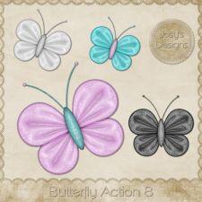 Butterfly Action 08 by Josy #CUdigitals cudigitals.com cu commercial digital scrap #digiscrap scrapbook graphics