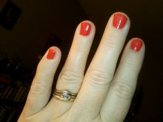 Be bold nail color!! Thanks Patty.