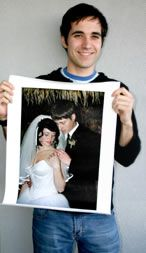 Quality Canvas Photos - Your Photos Printed on Canvas...smaller photo sizes available and flat rate shipping.