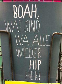 Hip hippiger hipster
