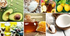 The skincare and hair products are found in the kitchen not the bathroom! Celebrities and models swear by the powers of honey, coconut oil, avocado and more