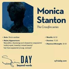 Monica Stanton - Crossfire Series - Sylvia Day