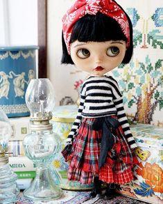 Sugarbabylove for Blythe Pretty Dolls, Beautiful Dolls, Doll Clothes Patterns, Doll Patterns, Santoro London, Kawaii Doll, Valley Of The Dolls, Doll Repaint, Custom Dolls