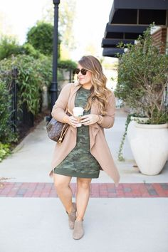 Layered Look for Fall Fashion by North Carolina fashion blogger Coffee Beans and Bobby Pins