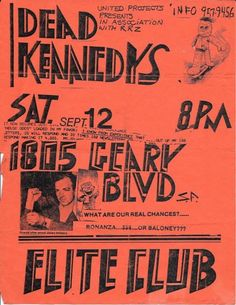 Old Punk Flyers : The post Old Punk Flyers : Photo appeared first on CoDesign Magazine | Daily-updated Magazine celebrating creative talent from around the world.