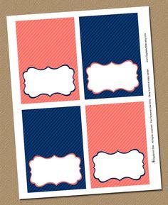 buffet cards printables - Buscar con Google