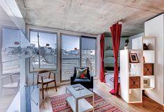 4 apartamentos com menos de 35 metros quadrados para você se inspirar - limaonagua