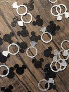 5 x Top Hat /& Bow Ties Table Confetti Sprinkles 14g