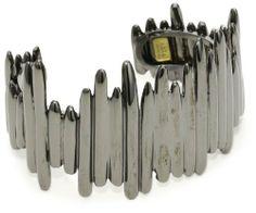 KARA by Kara Ross Cast Stick, Gunmetal Cuff Bracelet KARA by Kara Ross. $214.16. Made in USA