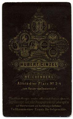 H. Ginzel, Liberec - Verso by oldichvondich (josefnovak33´s Alter Ego), via Flickr