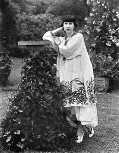 Florine Stettheimer (August 29, 1871 - May 11, 1944) was an American painter, designer, and poet.  Eccentric, private, and withdrawn, Stettheimer protected her lyrical canvases and painterly poems from the vicissitudes of the open and competitive market place. With her sisters, Carrie and Ettie, she hosted a salon for modernists in Manhattan, which included Marcel Duchamp, Henry McBride, and Georgia O'Keeffe.