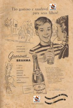 GUARANÁ BRAHMA REFRIGERANTE / BRASIL (SOFT DRINK - BRAZIL)