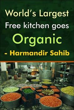 #BlessedToBeSikh World's Largest Free kitchen goes Organic- Harmandir Sahib Guru Ramdas Langar Hall at Sri Harmandir Sahib (popularly known as the Golden Temple) – one of the world's largest community kitchens, will soon be serving organic food. A kitchen that feeds 100,000 people daily . Read more http://barusahib.org/general/worlds-largest-free-kitchen/ Share and Spread the world to know !