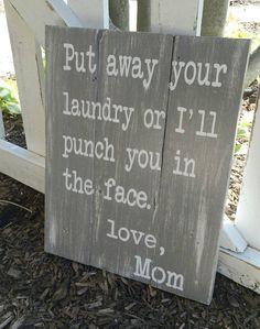 Laundry room decor  laundry room sign  by HillcraftDecor on Etsy