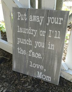 Laundry room decor laundry room sign by HillcraftDecor on Etsy