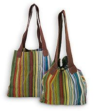 Santiago Stained Glass Woven Tote at The Breast Cancer Site