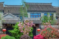 Get a glimpse into the elegant Pan'an Water Town in Xuzhou, a major city in and the largest prefecture-level city of Jiangsu Province via Jiangsu China ( China Architecture, Nanjing, Shanghai, Geography, Mansions, Landscape, Elegant, House Styles, City