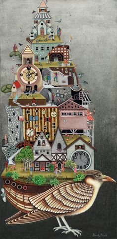 Time To Fly is a painting created by Brandy Masch in Find out more at Mayberry Fine Art. High Art, Hanging Out, Surrealism, Street Art, Steampunk, Bloom, Scrapbook, Colours, Invitations