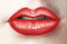 Beautiful luscious lips