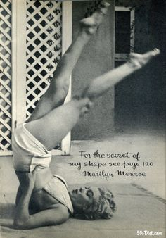 Marilyn Monroe: How I Stay In Shape, Pageant Magazine, 1952