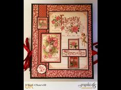 Sharing a fun Valentine Album in a case, all altered in papers from various Graphic 45 collections. Follow the link below to make the basic album. The shadow...