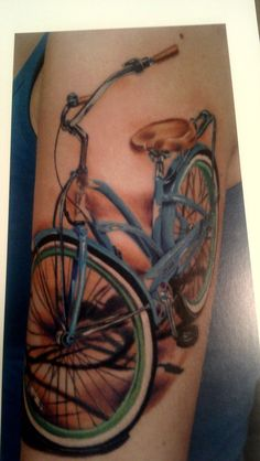 Gorgeous bicycle By Andy Barrett