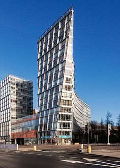 One Park West is a 17-storey building in central Liverpool, England, designed by architect César Pelli.