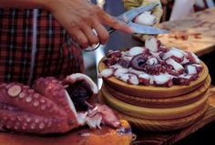 Pulpeiros de Carballiño - Fiesta del Pulpo - Café La Fundación - Logroño - La Rioja