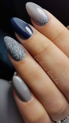 Gorgeous nail polish on almond shaped nails almond How To Paint Yo. - Gorgeous nail polish on almond shaped nails almond How To Paint Your Nails Like A Pro - Cute Acrylic Nails, Cute Nails, Pretty Nails, Diy Nails Manicure, Gel Nails, Essie Gel, Glitter Nails, Coffin Nails, Nagellack Trends