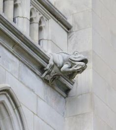 Color Sweet Tooth (click to gallery): National Cathedral Gargoyles