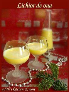 LICHIOR DE OUA- O bautura suava, de dama, dar care poate placea si domnilor... Reteta o am de la mama, ea o savura cu ani buni in urma si m-am hotarat sa o incerc si eu. R Cold Drinks, Alcoholic Drinks, Jacque Pepin, Tea Cafe, Christmas Cocktails, Health Snacks, Dental Health, Christmas Treats, Bakery