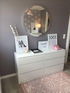 Guest bedroom #IKEA #hm #desenio #diy