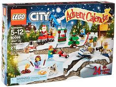 Kids love Legos and what better way to enjoy the countdown to Christmas than with Lego City Advent Calendars.